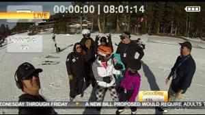 Courtney ski trip 8