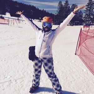 Courtney ski trip 9