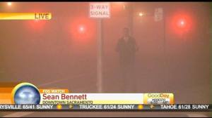 Sean in a Fog