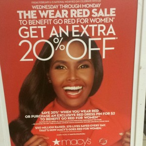 wear red sale