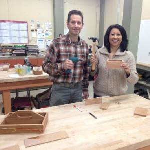 wood working with tina