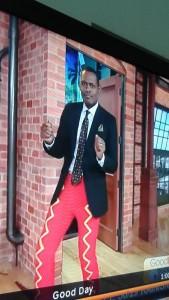 Ken crochet pants