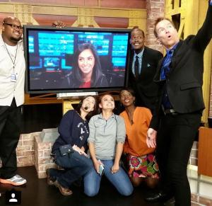 good day crew with sharon from cnet