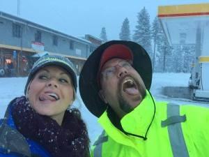 Kristin Scott Z Catching Snow