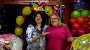 tina balloon party
