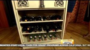 thrifty wine rack