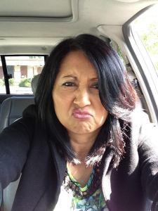 tina grumpy face