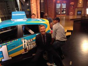 car in studio 1
