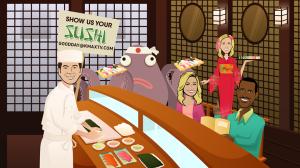 Good Day Sushi Day 1