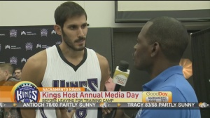 Kings media day 1