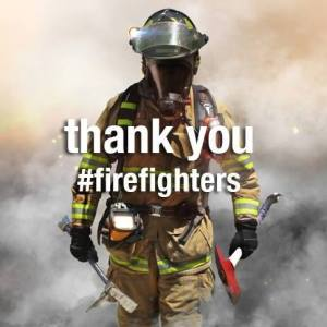 Thank you firefighters