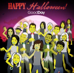 Good Day Family Halloween Cartoon