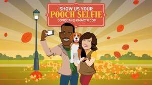 Good Day Pooch selfies