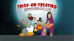 Good Day Weekend Trick OR Treat Oct 31st