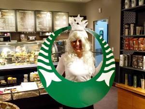 Julissa Starbucks cup 1