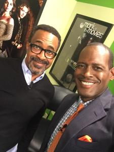 Ken with Tim Meadows aka Leon Phelps
