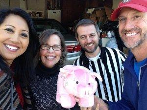 Rover Scavenger Hunt Items piggy bank