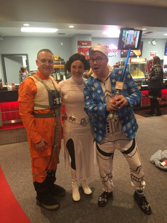 Cody with Star WArs Couple