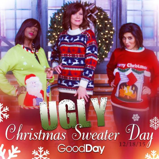 Good DAy Ugly Sweater Courtney Marianne Julissa