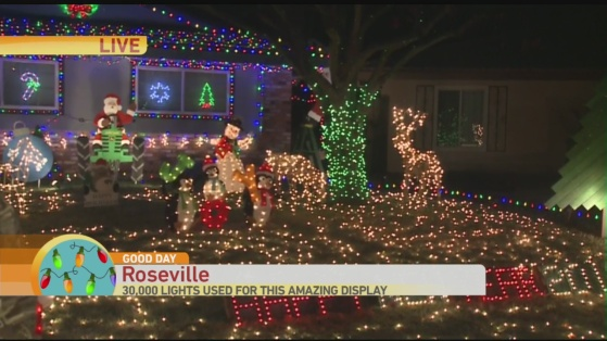 Roseville light display 1