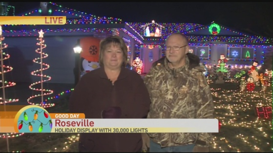 Roseville light display 2