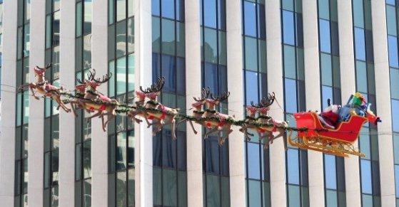 Santa Flies