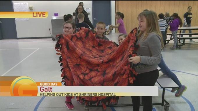 Blankets for shriners 1
