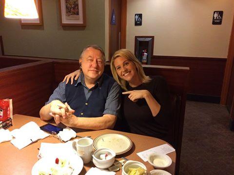 Cambi Scavenger Hunt sitting with stranger 1