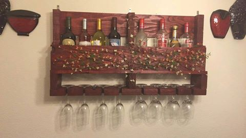 DIY Wine Rack 1