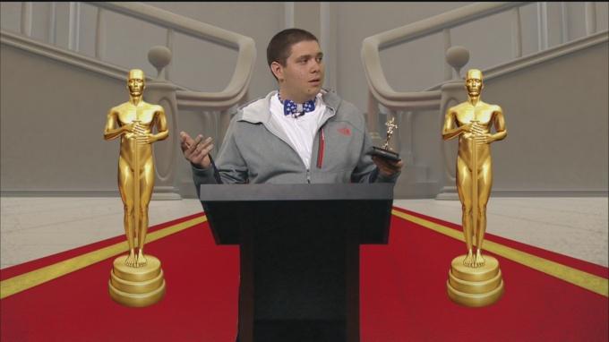 Good Day 2016 Oscar Show Winner Chris McClain 1