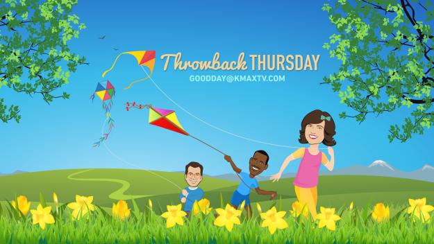 Good Day Throwback Thrursday Kite 1