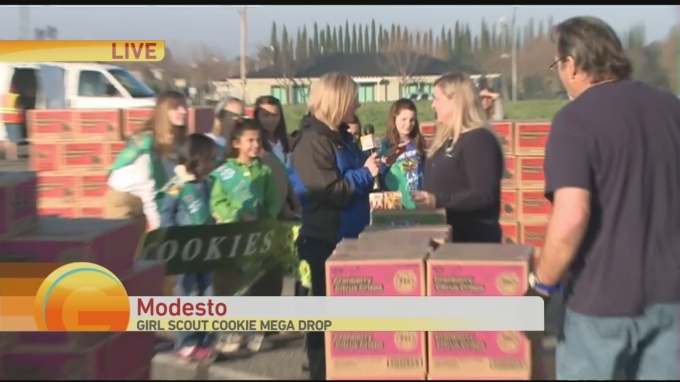 Modesto Girl Scout Cookie 1
