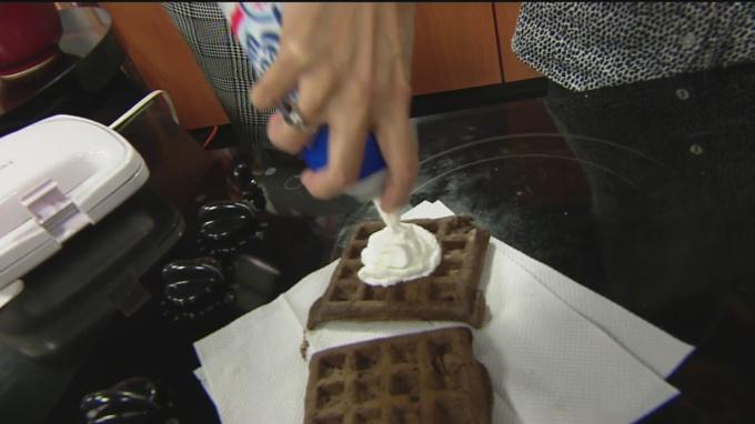 waffle cake 1