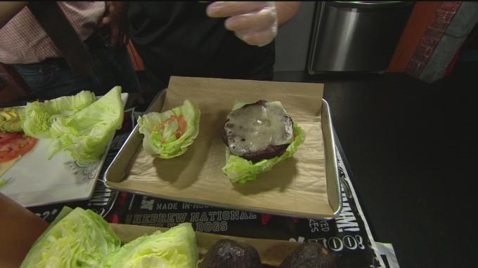 Veggie burger 1