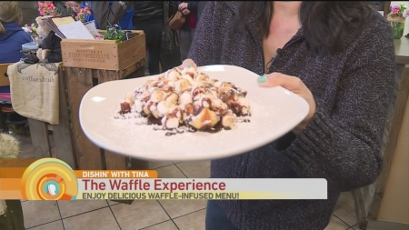 Waffle Experience Dishin !