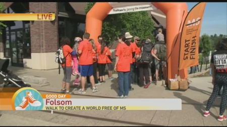 Folsom MS walk