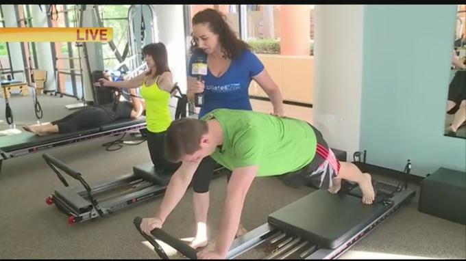 Pilates twist 1