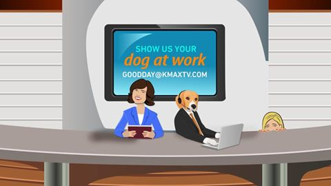 Good Day Dog at Work 1