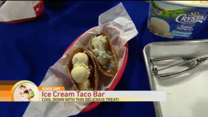 Ice Cream Taco 1