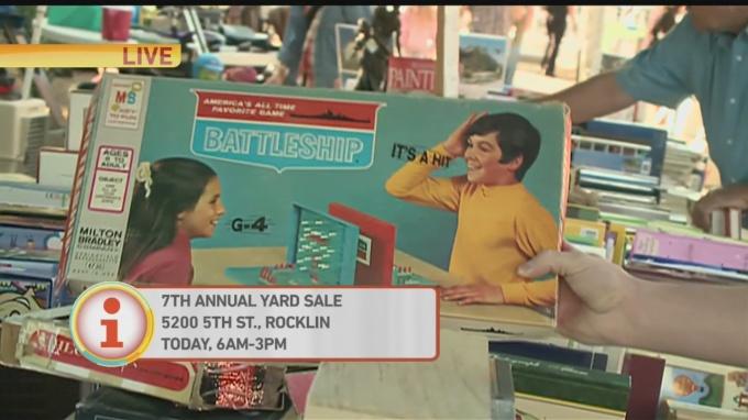 Rocklin Yard Sale 1