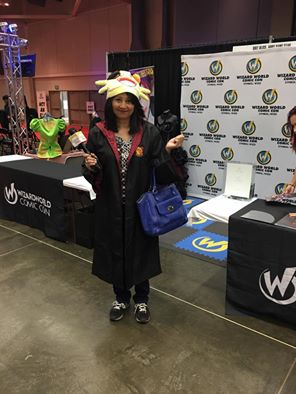 Tina at Wizard World 1