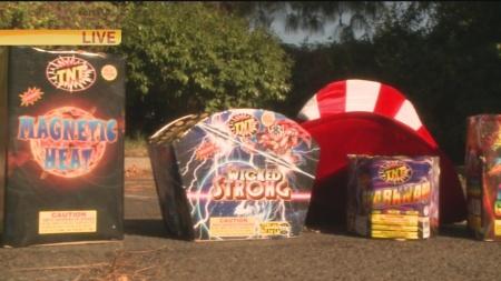 Low Budget Fireworks 4
