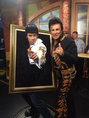 Cody with James Clark Elvis 1
