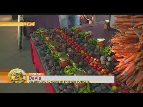 Davis Farmers Market Aug 13 1