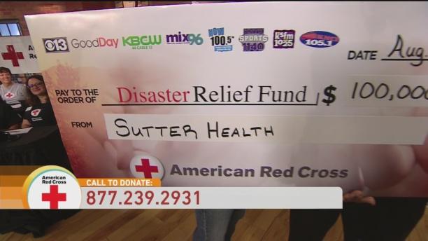 Sutter Donation 1