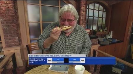 Jason dips pizza 1
