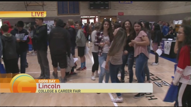 Lincoln High Job Fair 1