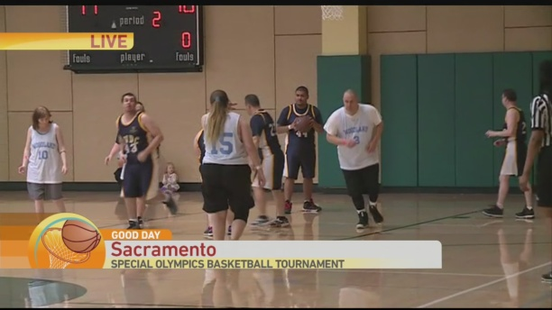 Special Olympics Basketball 1