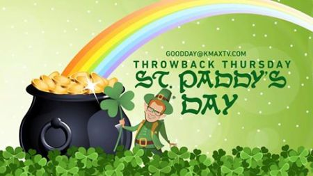 throwback Thursday St Patricks Day 1