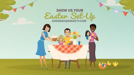 Easter Set up 1
